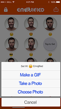 Emojiefied apps| Gexton