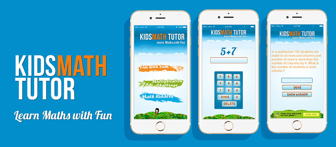 Kids Math Tutor | Gexton