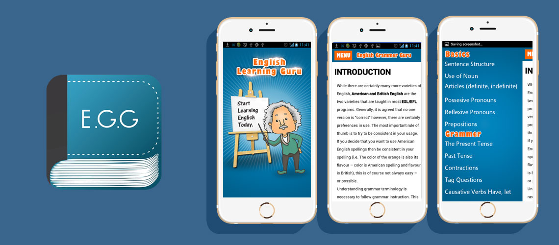 English Grammar Guru App | Gexton