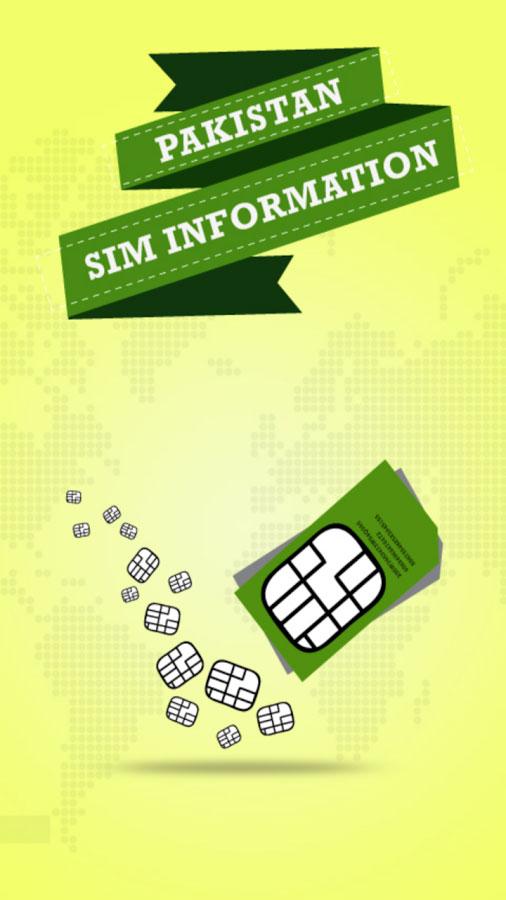 Pakistan Sim Information | Gexton