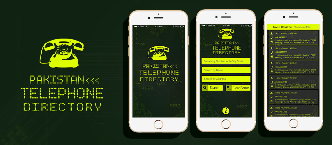 PTCL Phone Directory Telephone Directory