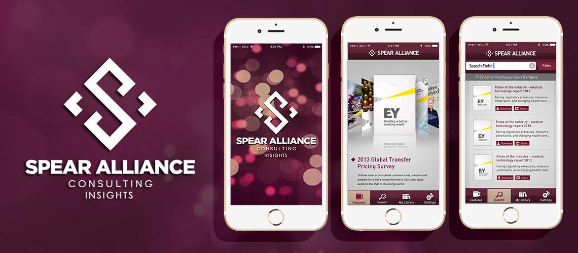 Spear Alliance App, industry app, analyses app